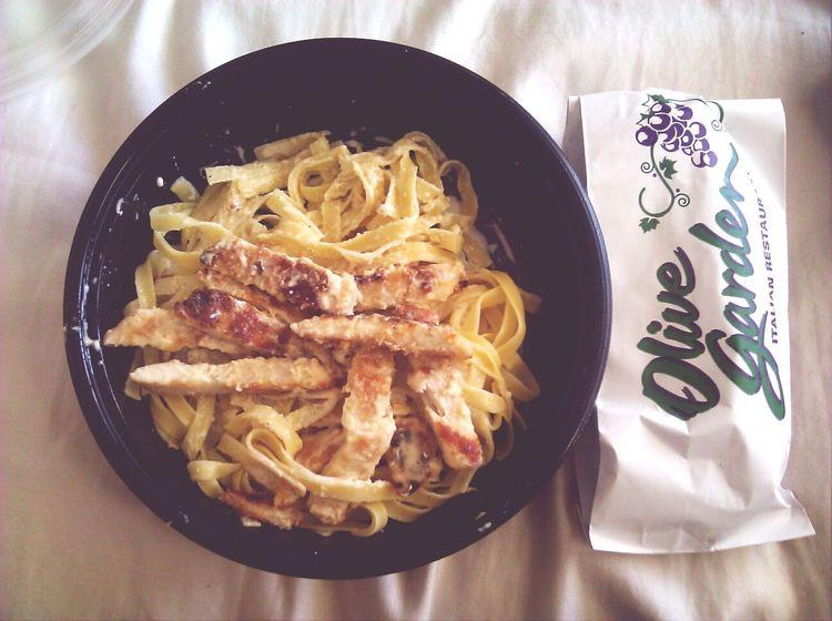 Olive Garden Food Chicken Alfredo