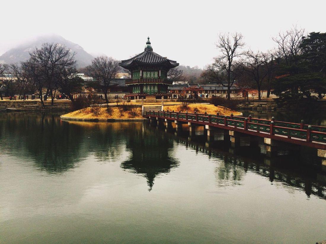 Seoul_korea Traditional House Gyeongbokgung Palace, Seoul Rainy Days The Places I've Been Today