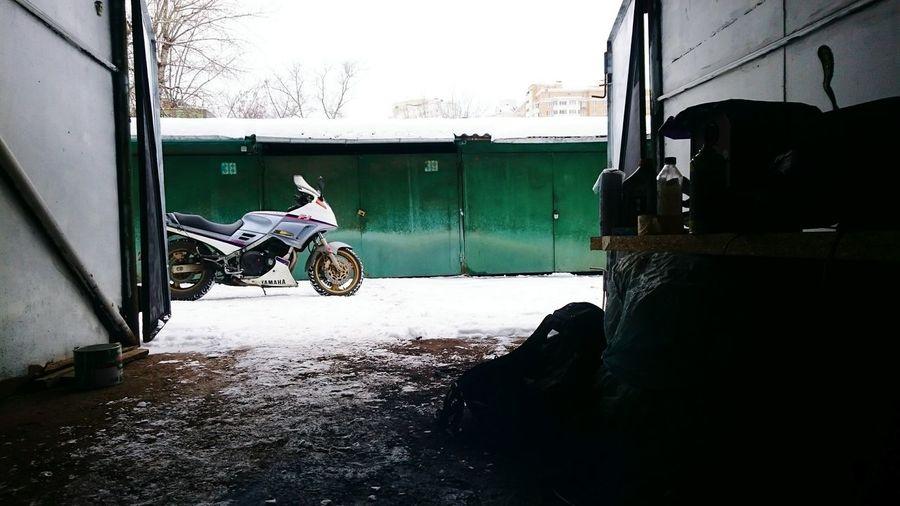 Yamaha Garage Box Winter Waiting Moto Moscow богородское ждем начало сезона