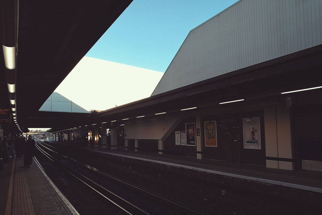 Architecture Sky Railing Railroad Station The City Light Urban Geometry Vscocam Travel Destinations Taking Photos VSCO Travel HuaweiP9 Still Life Clear Sky City Mobilephotography Eye4photography