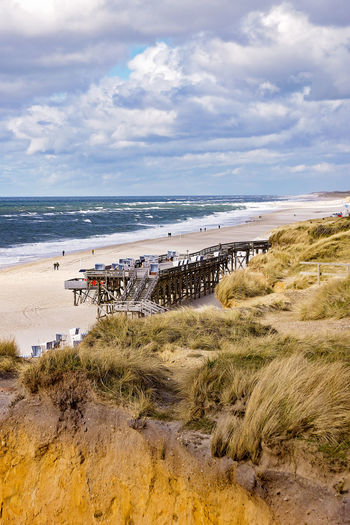 Kampen - Sylt Beach Cloud - Sky Kampen Outdoors Sand Sea Sky Sylt Sylt, Germany Travel Destinations Water