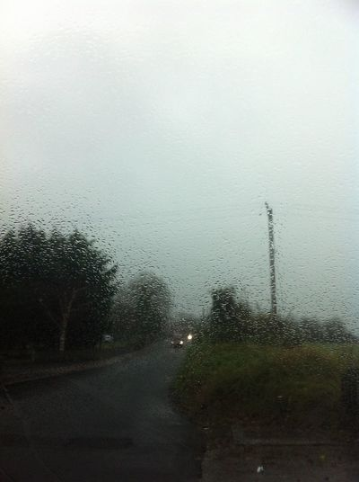 What a day rain never stops only lunch time so dark :(