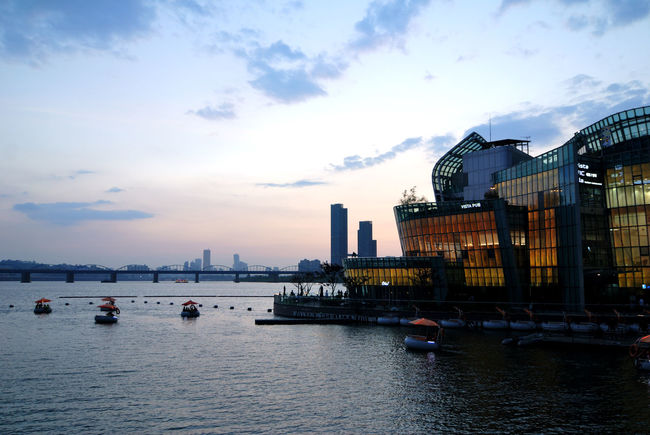 Architecture Building Chic City Life Cool River Water 새빛둥둥섬 새빛섬 서울 한강 한국