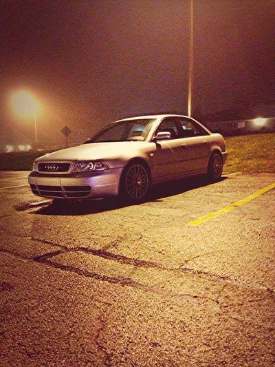 The Audi :)