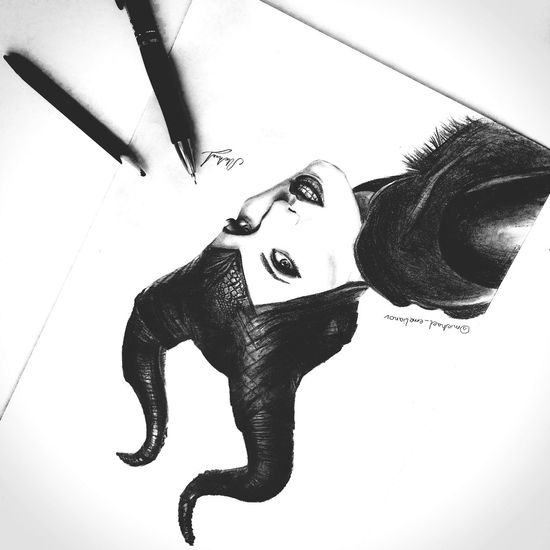 Disney Drawing Arts Malificent
