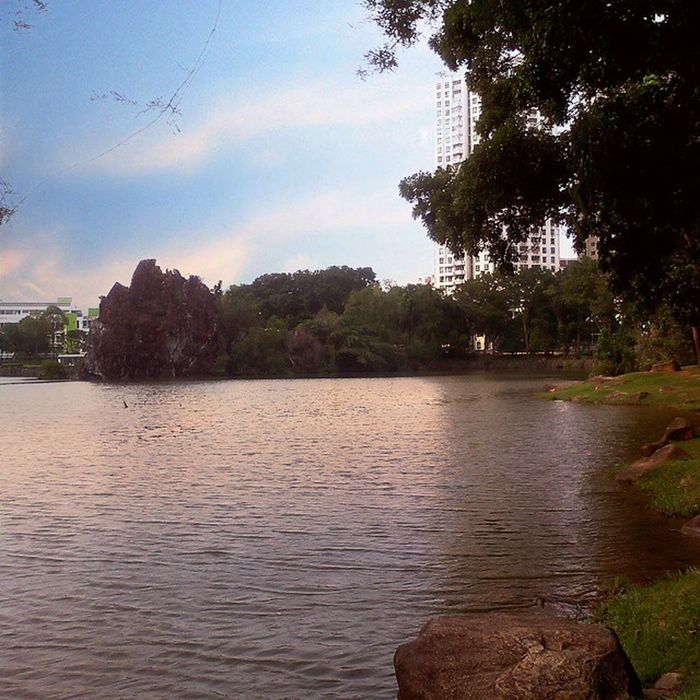 .my so called PEACE. :) Good morning from one of my favorite places here in SG!