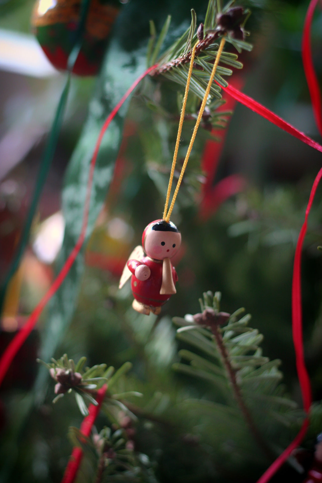 Angel Chrismas Time Chrismastime Christmas Christmas Decoration Close-up Day Details Focus On Foreground Growth Insect Nature No People Outdoors Plant