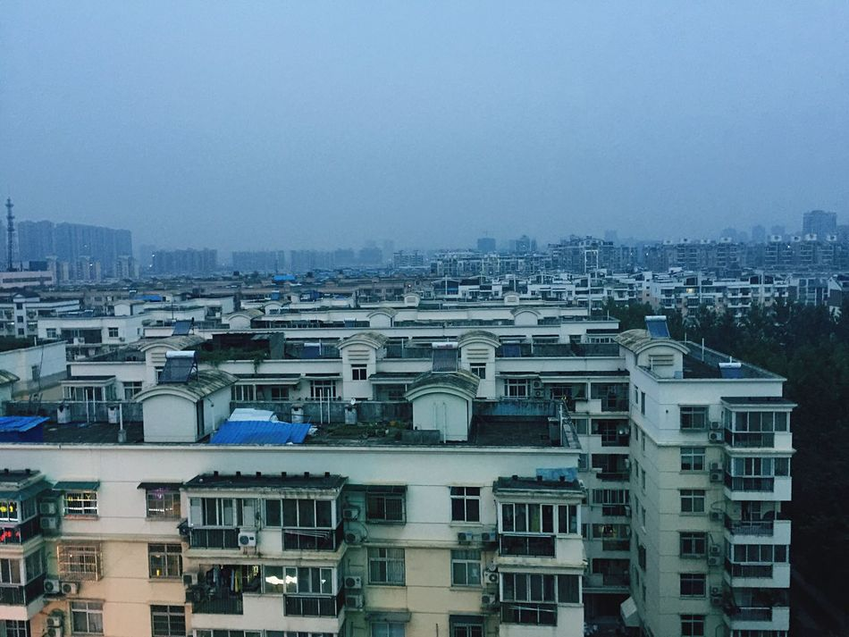 China Block Of Flats Block Immeuble Construction Building Architecture