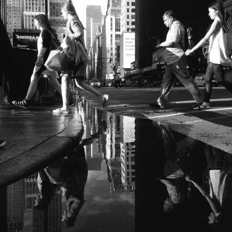 34th Street NYC Hipstamaticaddicts EyeEm Best Shots - Black + White Black And White Photography Black & White Blackandwhitephotography Street Protography Streetphotography_bw The Street Photographer - 2015 EyeEm Awards EyeEm Best Shots Street Photography