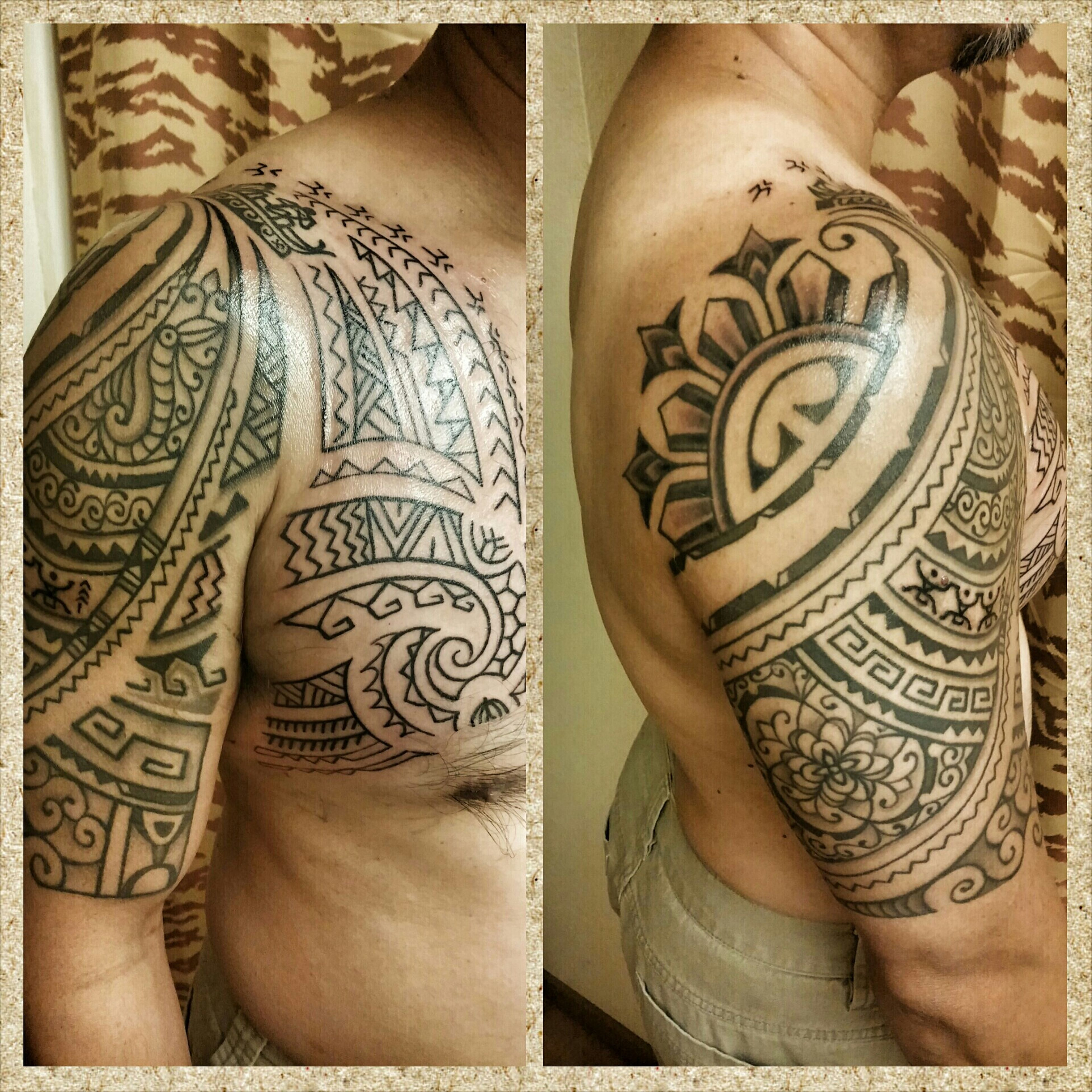 Designed by cofounder of Tatak ng Apat na Alon (Mark of The Four Waves) Tattoos Filipino Tribal Tattoo Filipino Tribal Tattoo Tattoo Filipino Tattoo Tribaltattoo