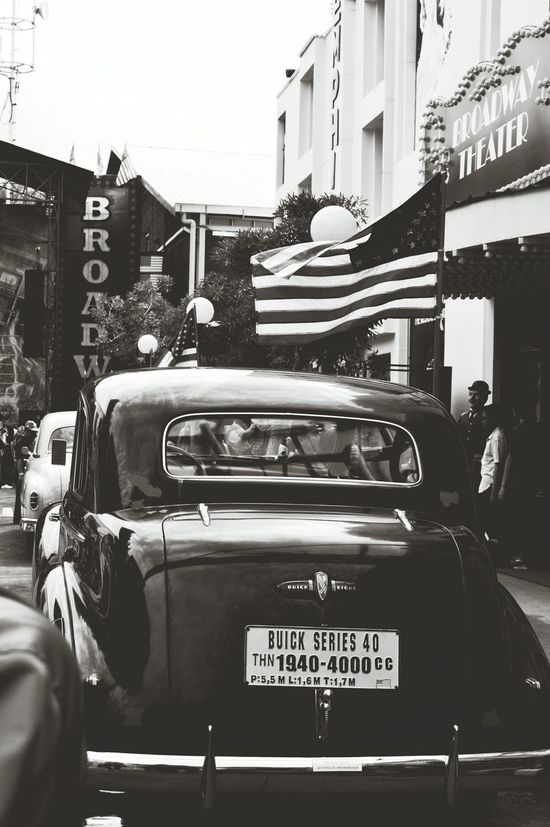 Buick Car Old Car Black And White Museum Angkut Batu Malang Streetphoto_bw