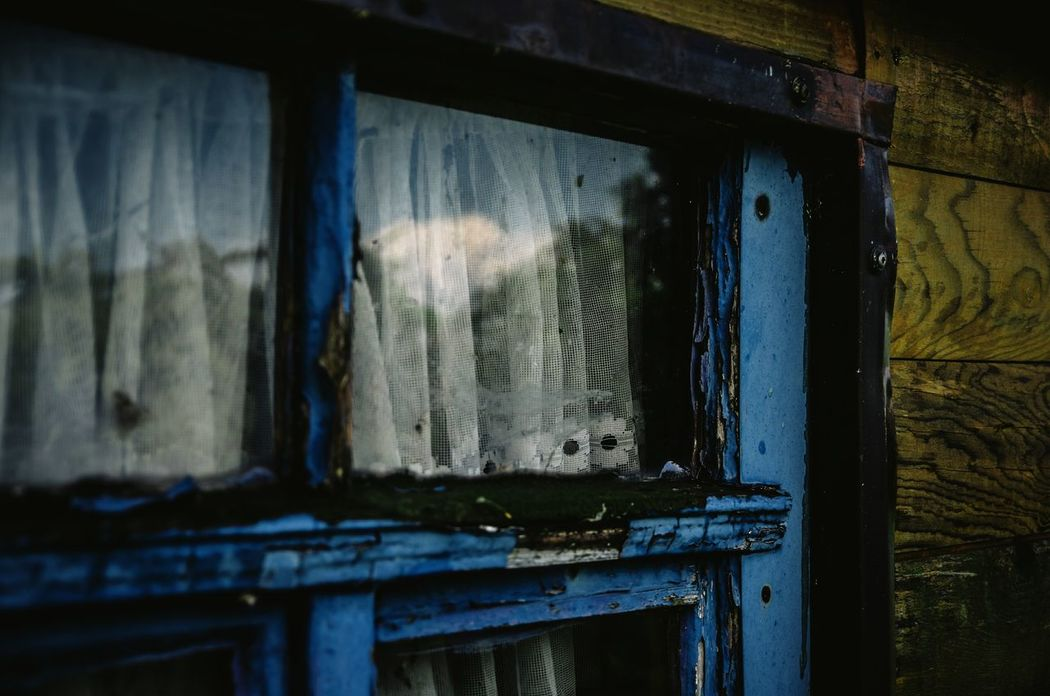 Old blue window... Window Built Structure Close-up Rural Rural Scene Timegoesby Old Window Frame Colorful Klaquax@home
