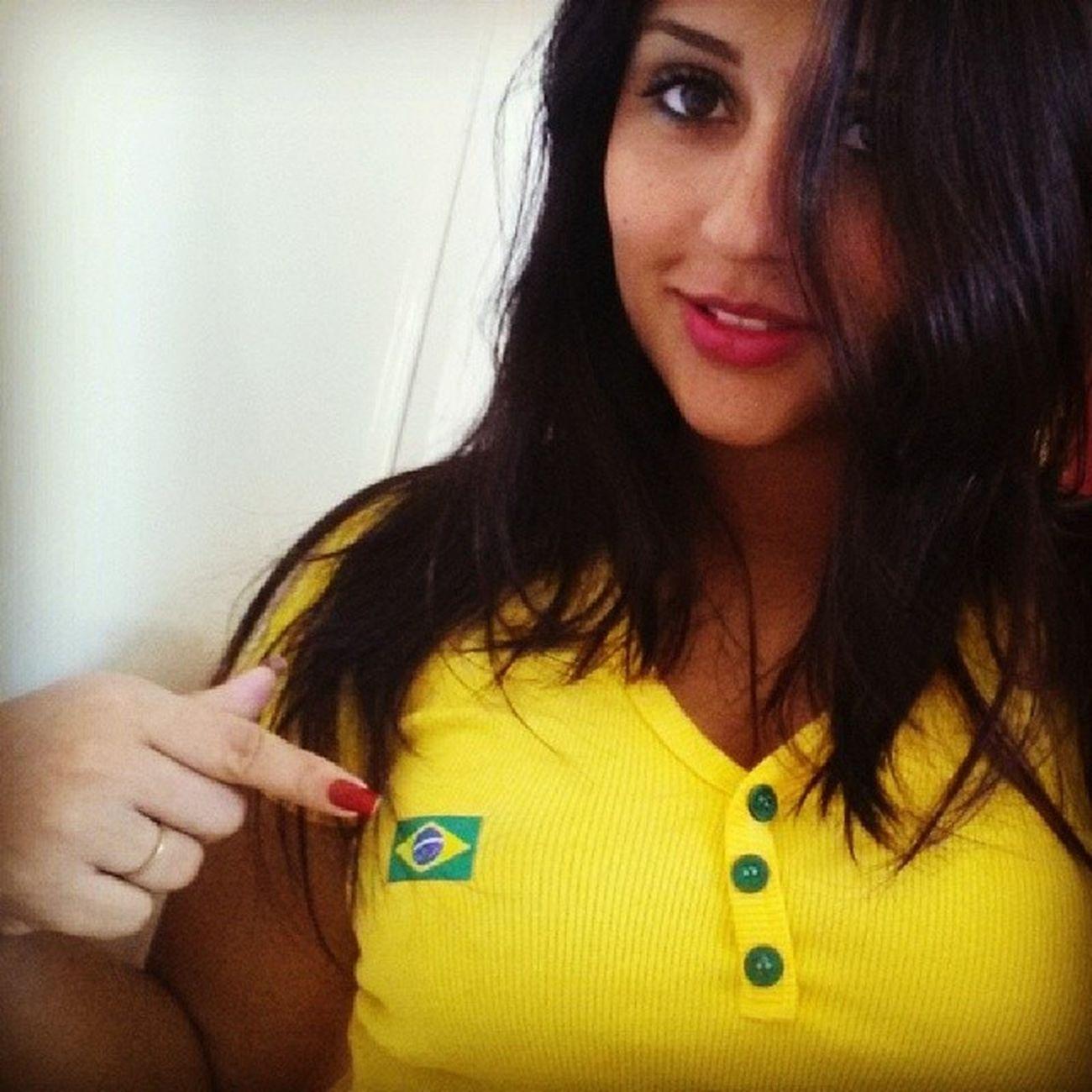 Ser Brasileira ??? Brasileiros Brasil Copadomundo VamosEmFrente ????