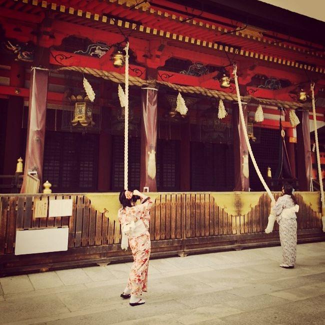 Prayer Rope Geishagirl Japanese Temple