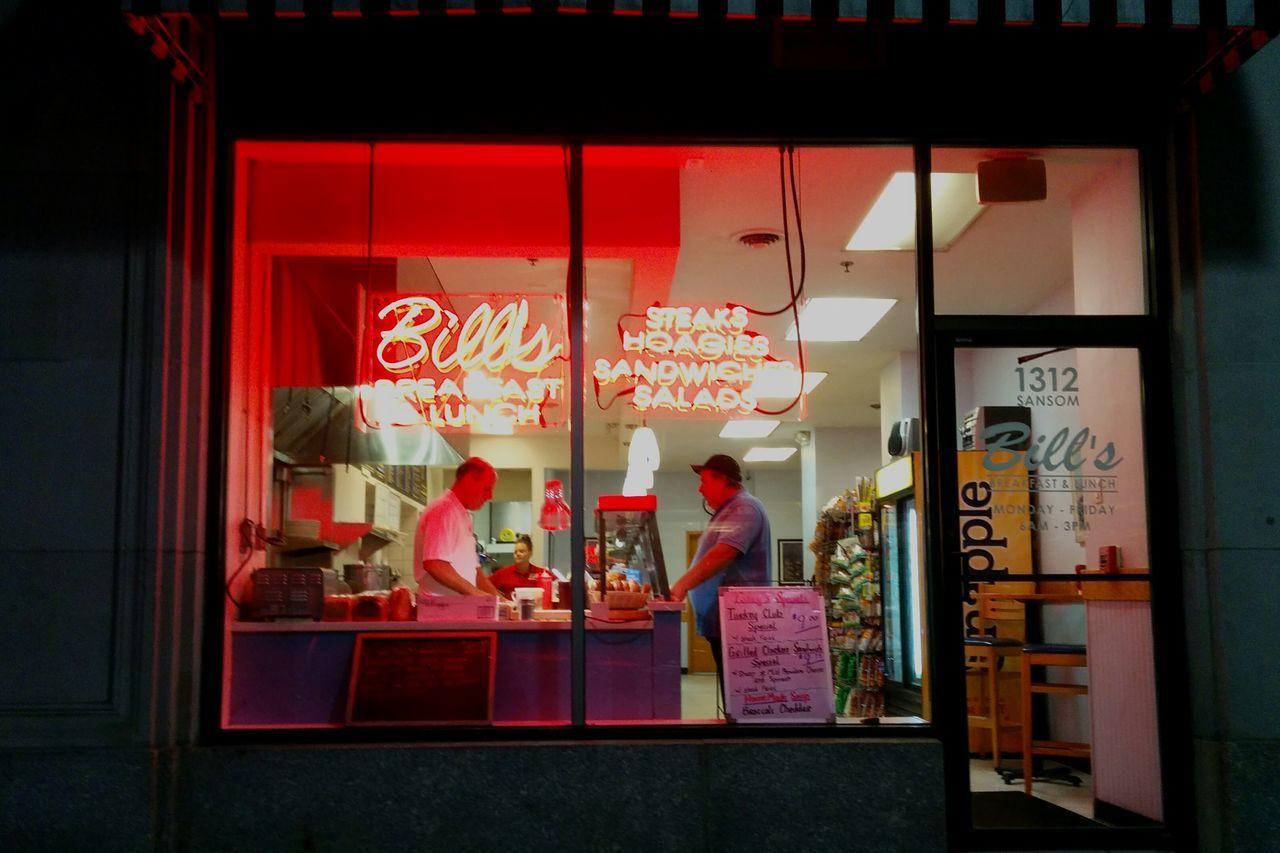 Bills Restaurant Sandwiches Streetphotography Dawn