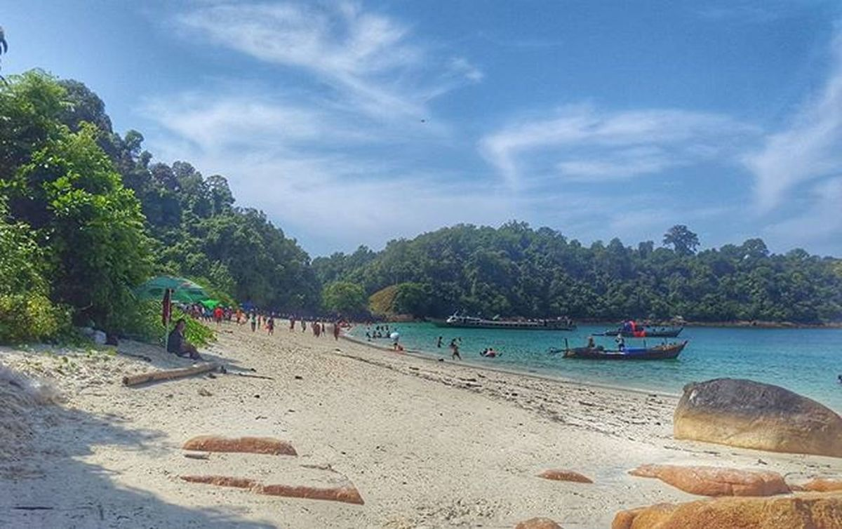 Marcus_island Beach White Sand Mergui Tanintharyi Burma Myanmar