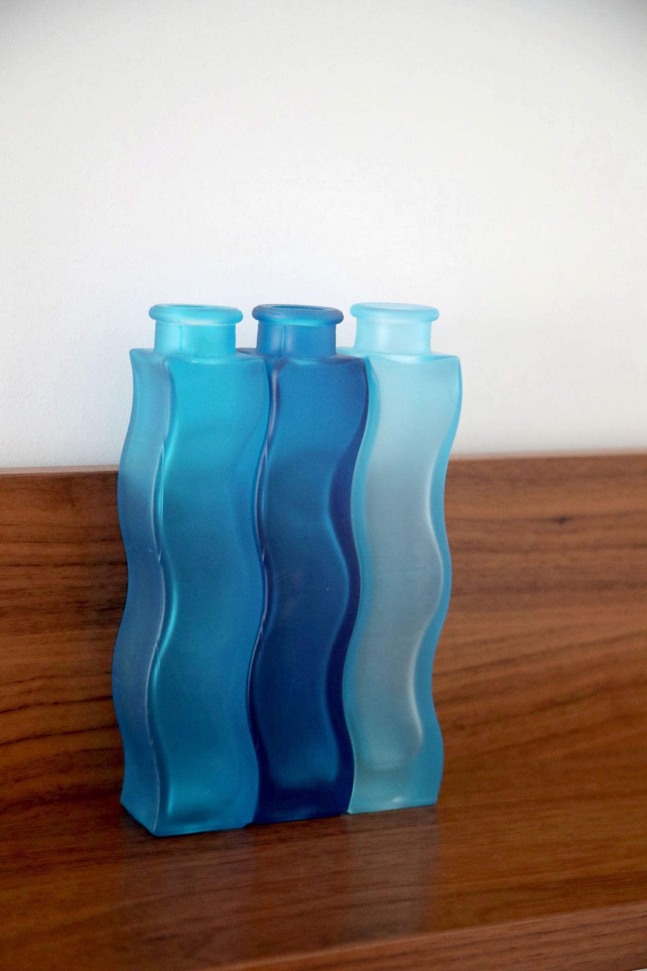 Blue Blue Vases Bottles Day Decoration Glass Indoors  No People Table