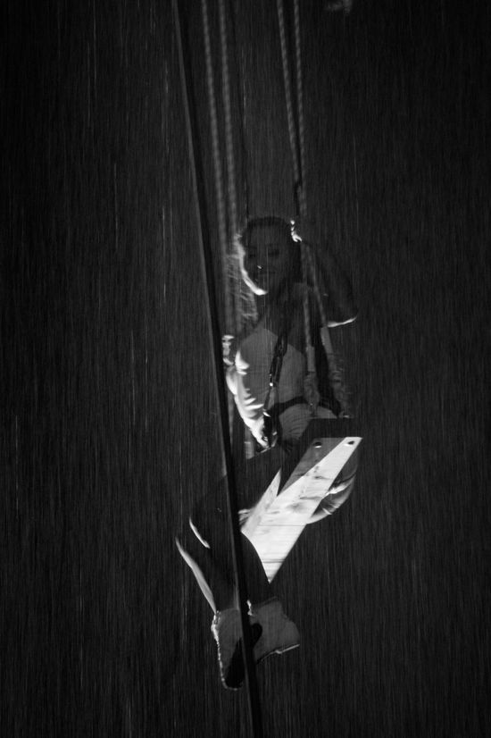 Black & White Dance Rain Woman Black And White Black And White Photography Blackandwhite Blackandwhite Photography Blackandwhitephotography High Angle View Hotel Watercage Night One Person People Preformance Preformance Art Preformer Real People Swing Teatre  Theater Tol