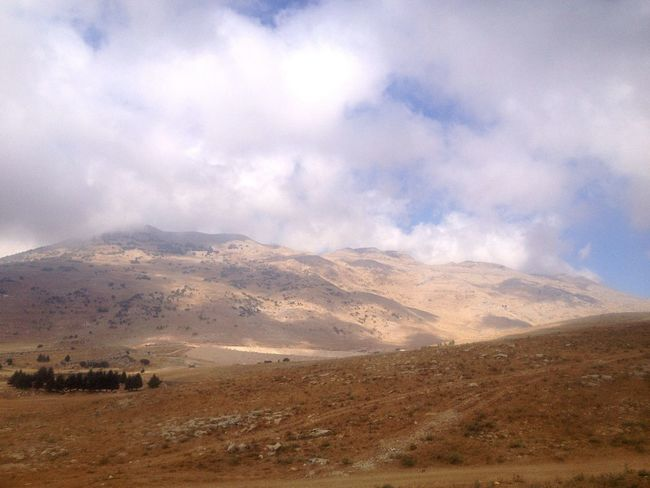 Lebanon Arid Landscape Mountains