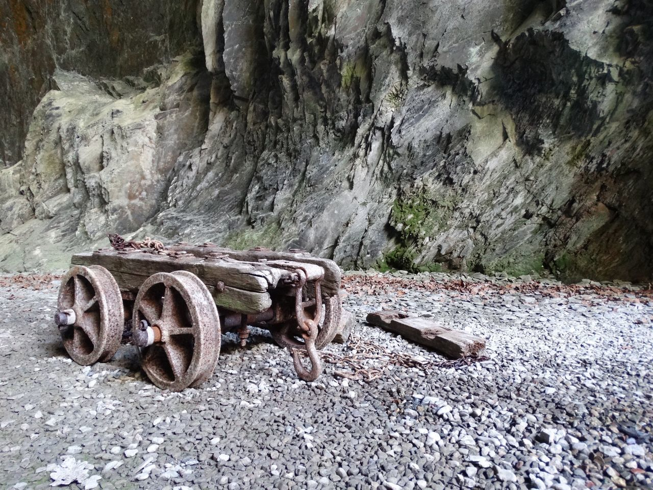 Small mining cart. No People Mining Truck Cart Cavern Cave Caverns Caves Rocks Rocky Mining Equipment Mining Industry Old Mine Old Historic History Mine Cart Mine Truck Wheels Stones Darkness And Light