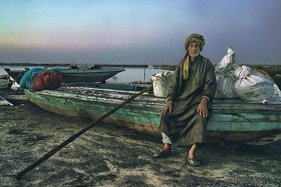 Before Sunrise. Photography Man Fisherman Egypt Sony Sonyalpha7ii Sonyalpha Showcase: January Sea