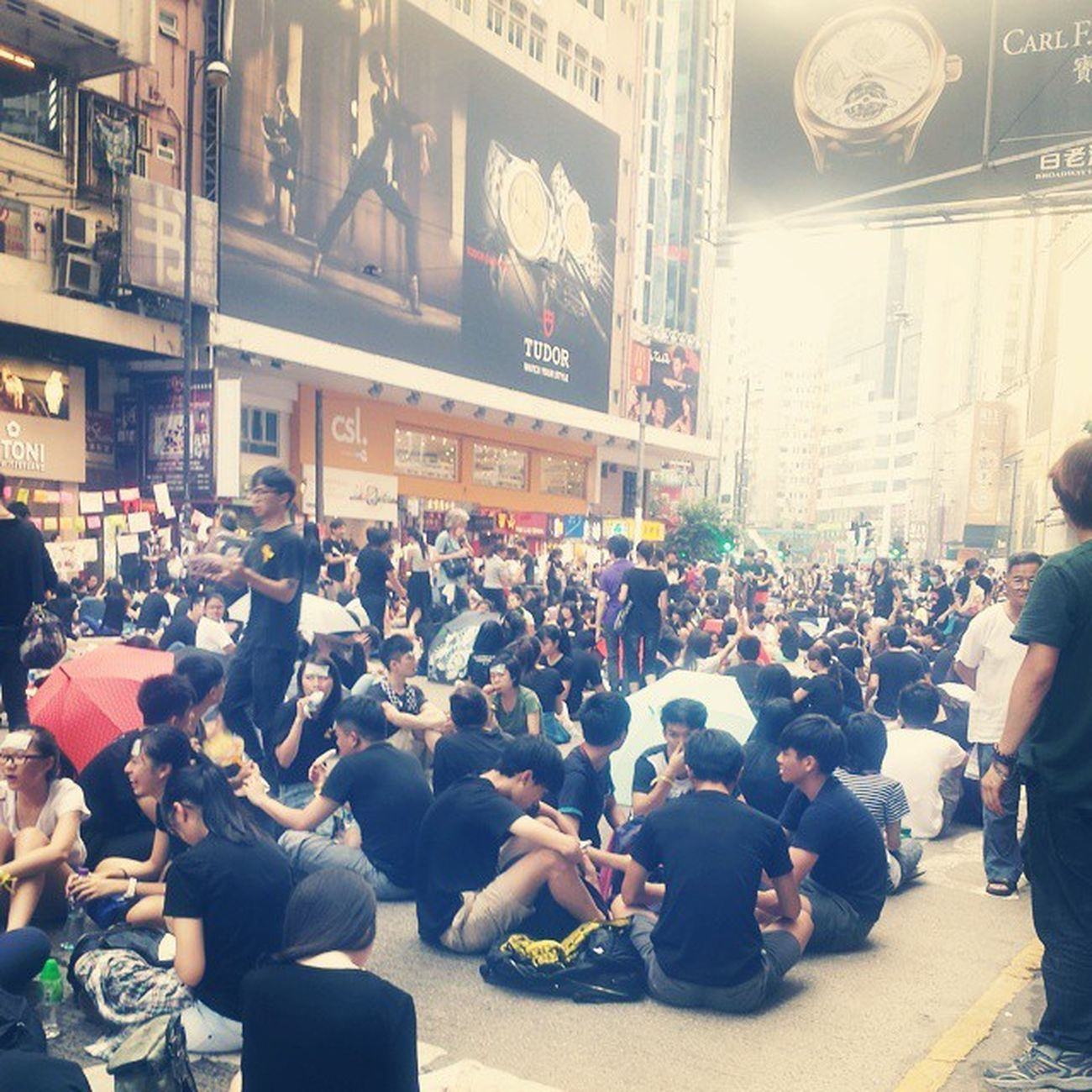 HongKong Peacefulprotest Occupycentral Occupycausewaybay Causewaybay  Amazing