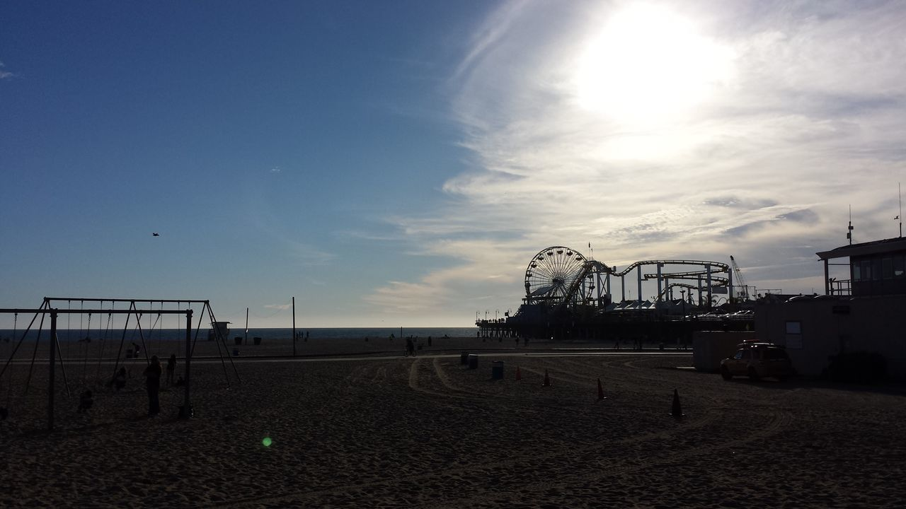 Beach Beach Photography Beauty In Nature California Landscape Late Daylight People And Places Santa Monica Santa Monica Beach Santa Monica Pier Sunny Sunsets