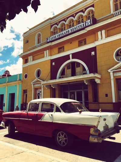 Cuba Old Cars ❤ Car Transportation Mode Of Transport Land Vehicle Architecture Building Exterior Built Structure No People Street