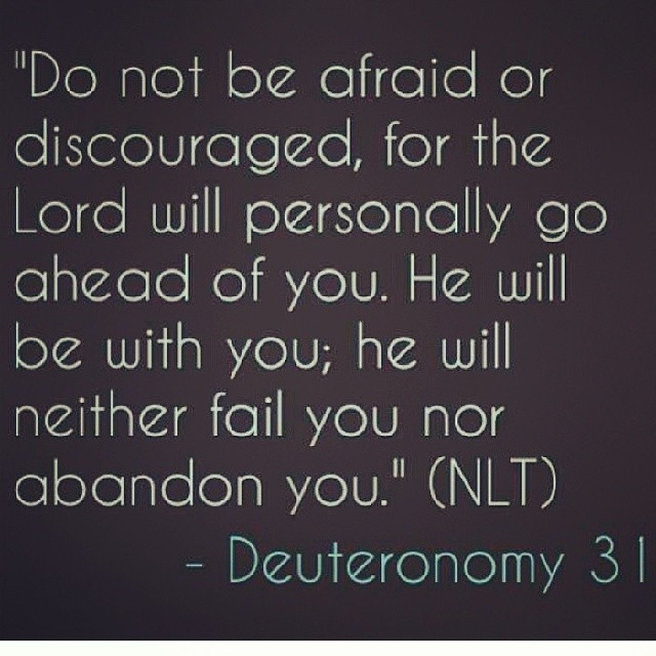 God is with you every step of the way! DontBeDiscouraged