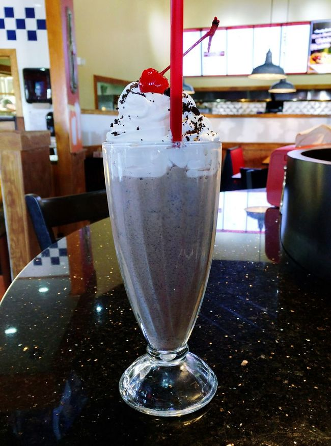 Hungry Oreo Shake Yummy♡ Whipped Cream With Cherry On Top YAZZZZZZ!!!!! Fancy Shake Relaxing