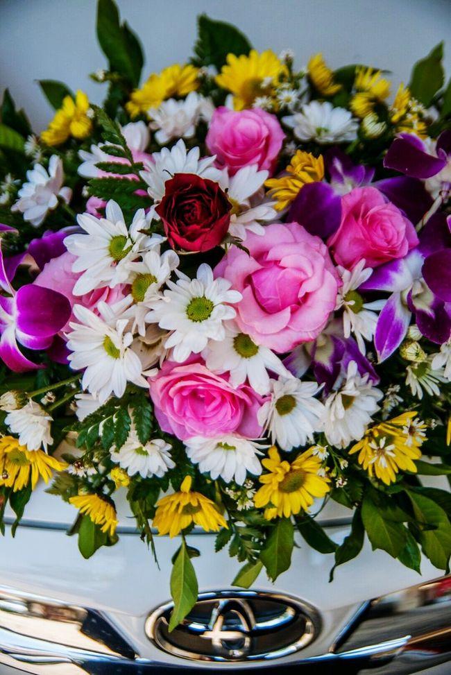 Flower Car Wedding First Eyeem Photo