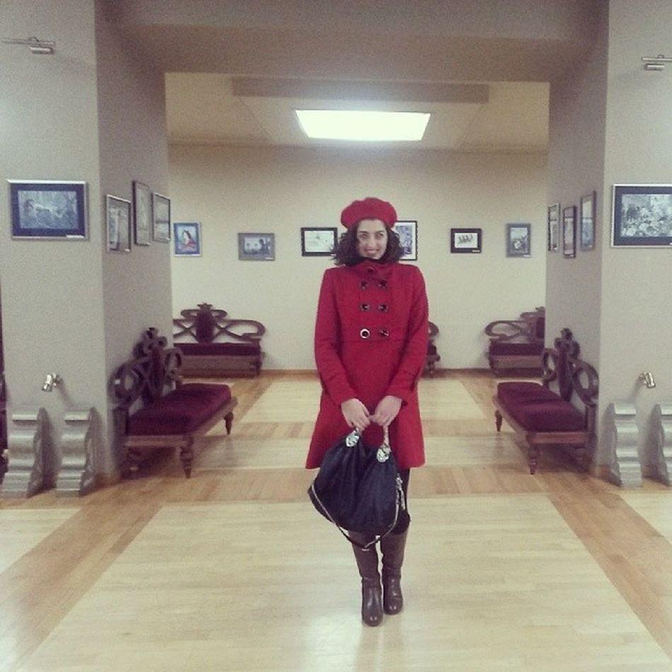 ქეთიც მოვიდა :) Art Gallery Viditor Exhibition