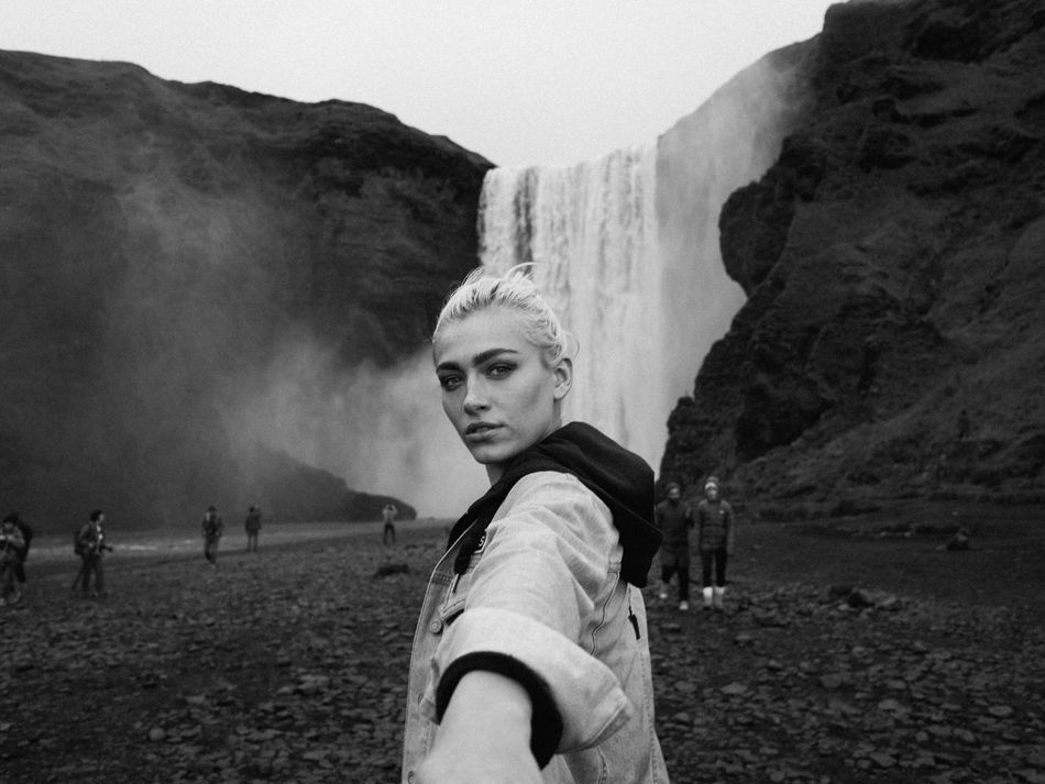Following dreams.. Lifestyles Nature Mountain Waterfalls Outdoors Beauty In Nature Beauty Iceland Blackandwhite Welcome Weekly