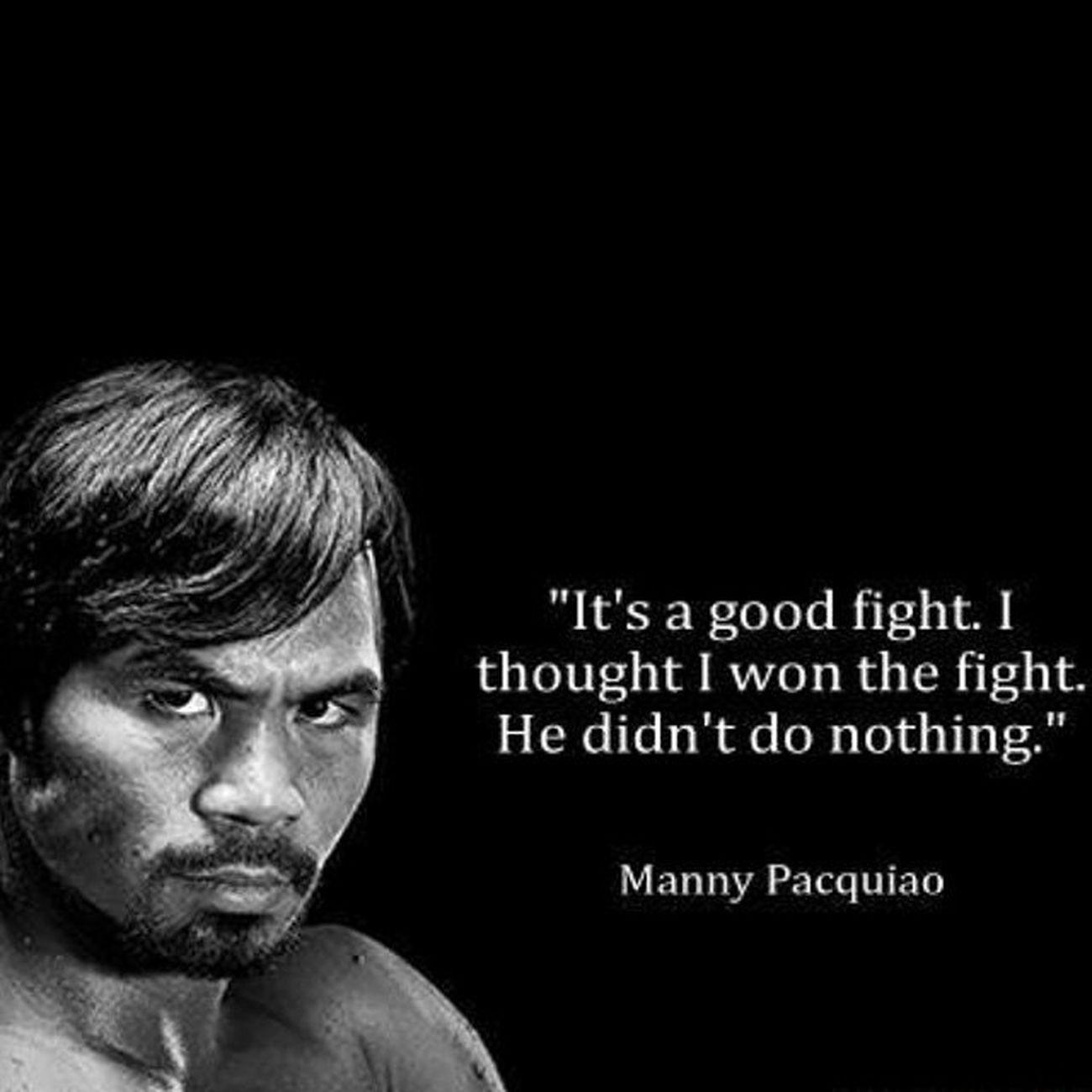 Congrats Manny parin Repost Maypac Mannypacquiao Mayweathervspacquiao thervspacquiao