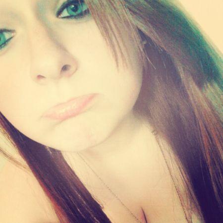 Blue Eyes Cute Bored Sad Face