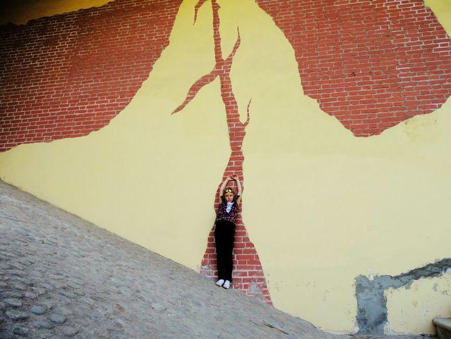 Ruins Sankt-peterburg Daughter Towers Park Springtime Wall Magic Place ☀️ Girl Power