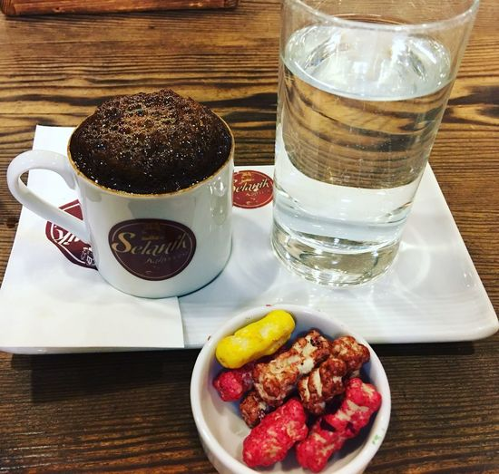 Coffee Food And Drink Table Food High Angle View Freshness Indoors  Wood - Material Refreshment No People Ready-to-eat Day Close-up Selanikkahvecisi
