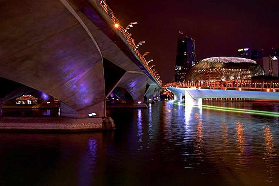 Other side in Marlion Park Singapore Hipaae Cityscape Glamcity Singapore2015 Marlionpark Streetphotography Nightlights