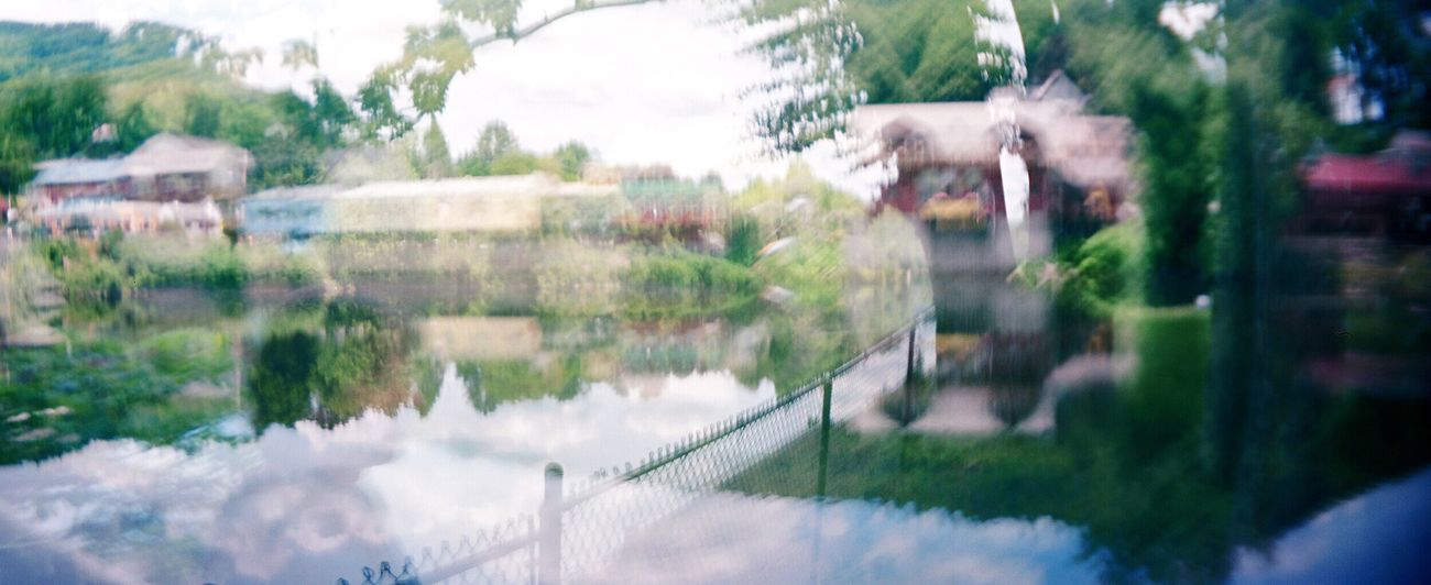 No People Sprocket Rocket Panorama Koduckgirl Water Film Salmon Falls Double Exposure