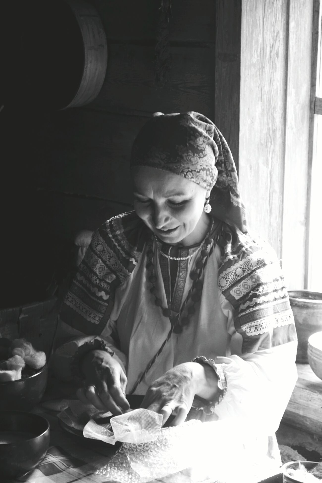 Summer Novgorod Woman handmade