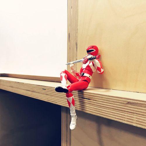 We all need a break sometime Break Power Ranger Power Rangers Superhuman Robot Toy Toyphotography Alive  TakingABreak Mini Red The Week On EyeEm