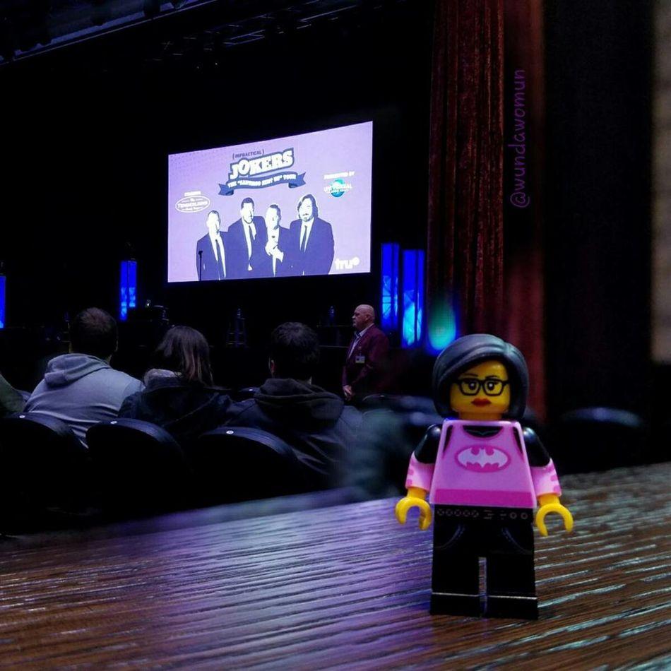 April 1-Begins with T FMSPhotoADayChallenge Fmsphotoaday The Tenderloins Trutv Impractical Jokers Live Show Santiagosentus LEGO Minifigure Sigfig Hispalego