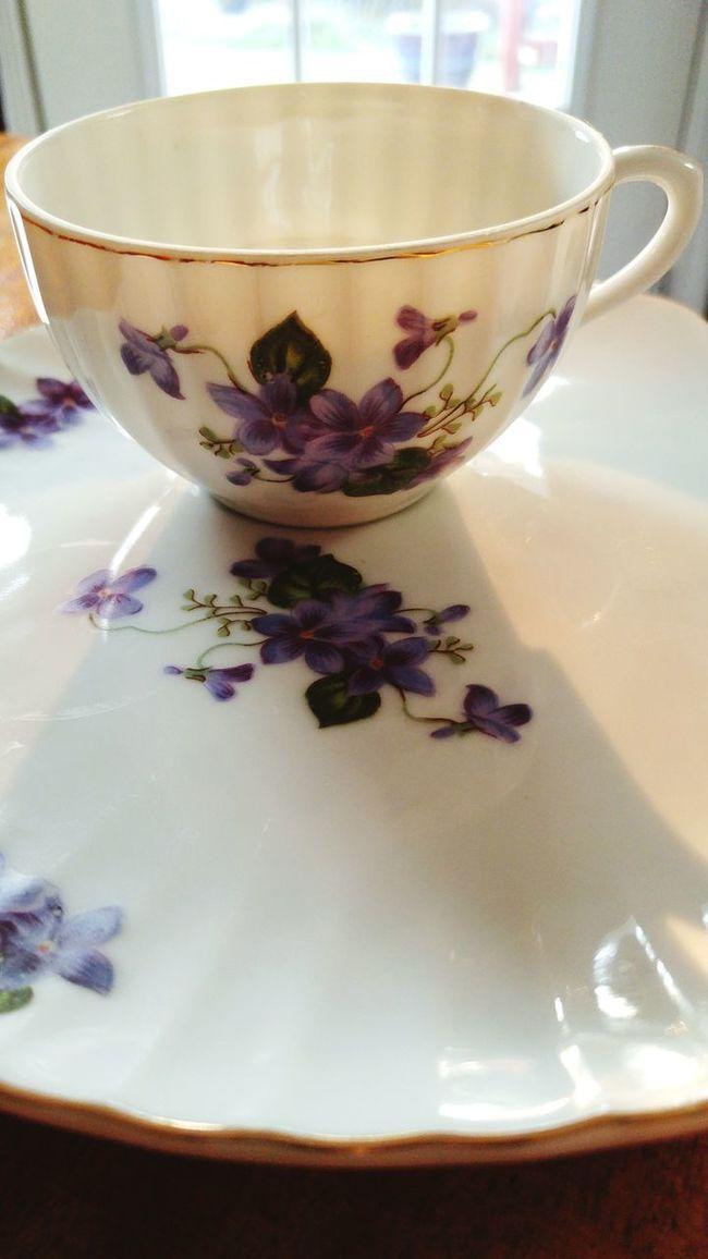 Teatime TeaCup Chinadish Saucer