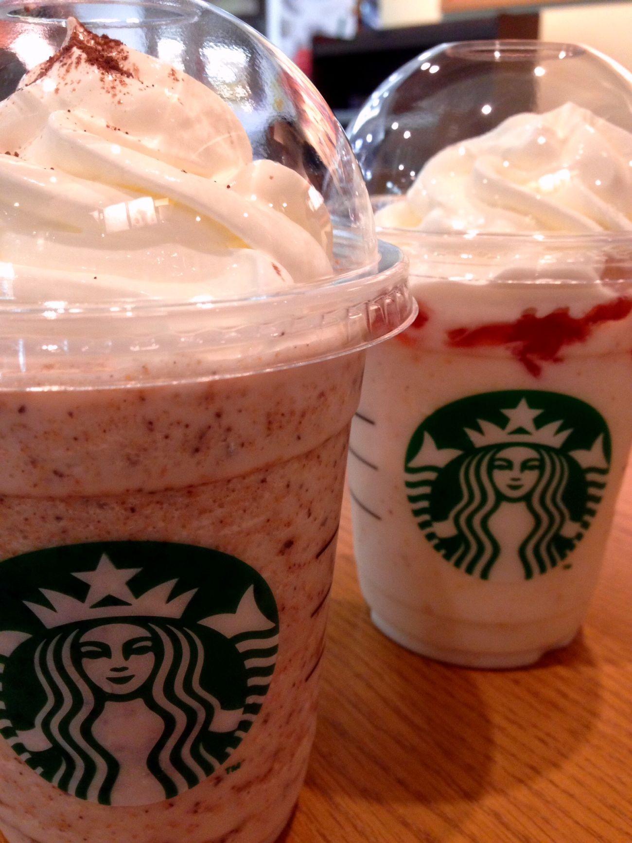 Starbucks Iphone5C Japan Enjoying Life