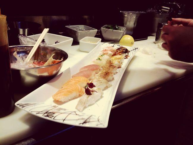 best sushi in Oslo