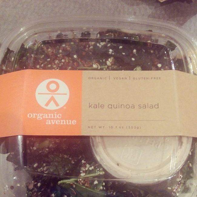 Kalequinoasalad from @organicavenue