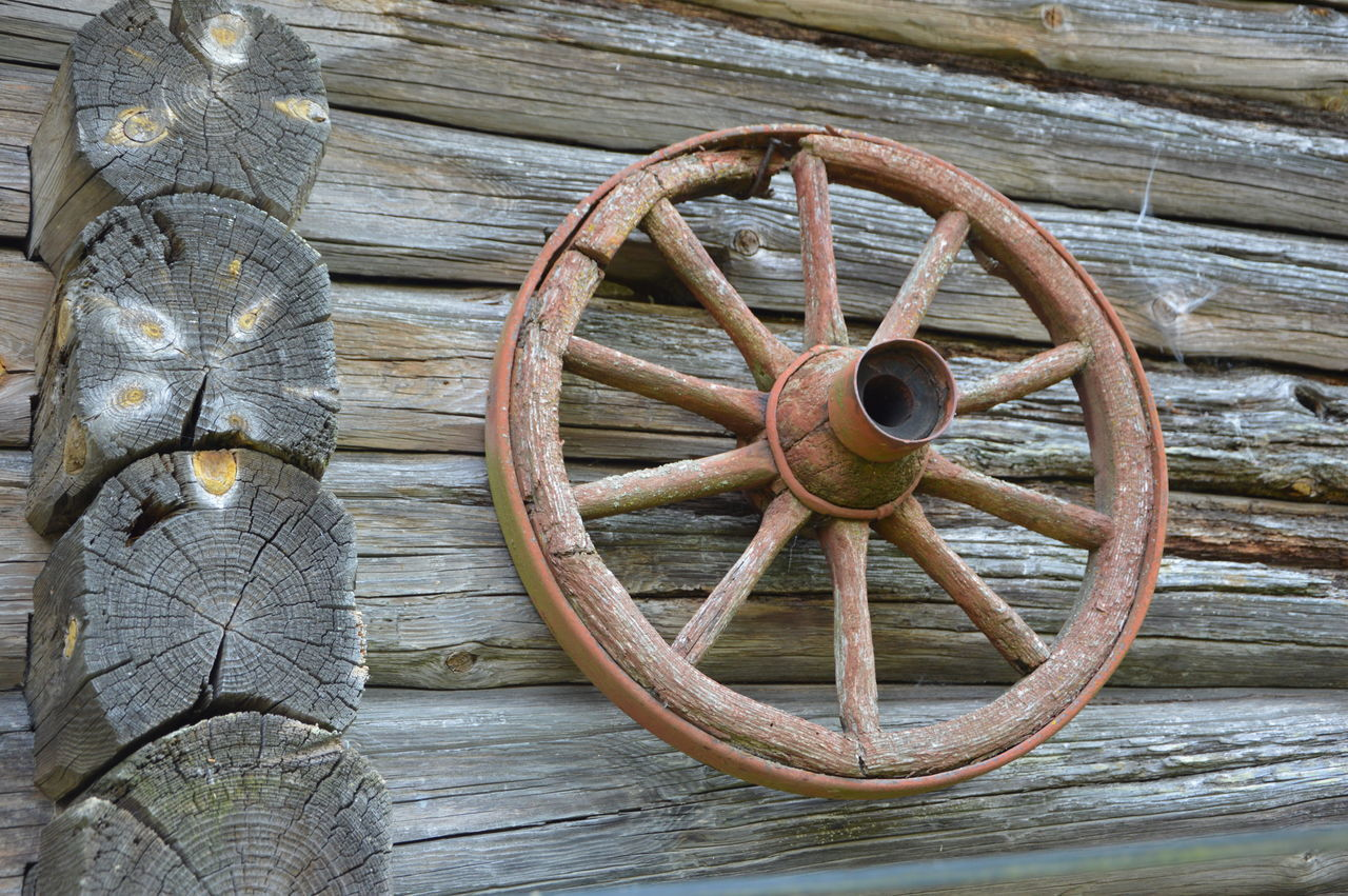spare wheel Carriage Wheel Ersatzrad Holzräder Old Outdoors Spare Wheel Wagenrad Wheel Wood - Material Wooden Wooden Wall Wooden Wheel