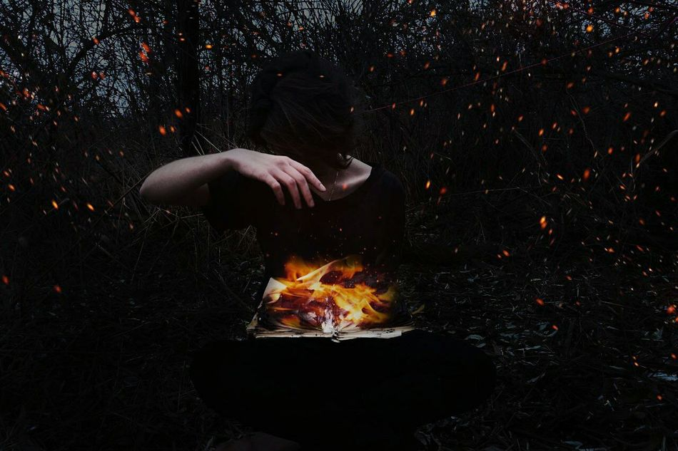 Book Fire Universe Dark Madness Magic Darkness Pain Fear Of The Dark Furcation