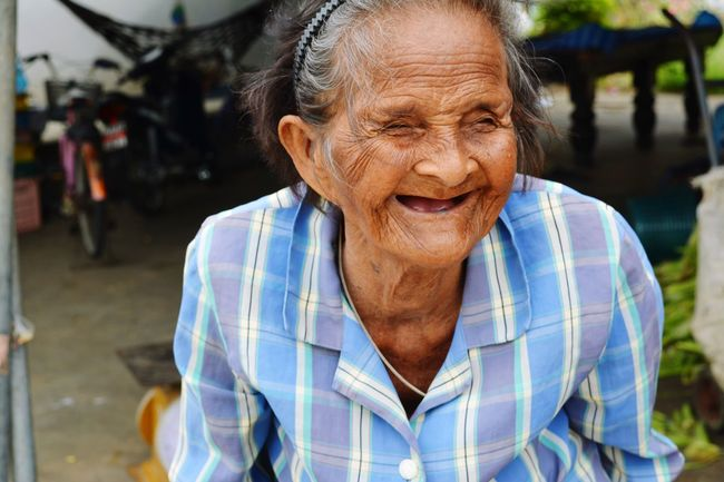 smile of age
