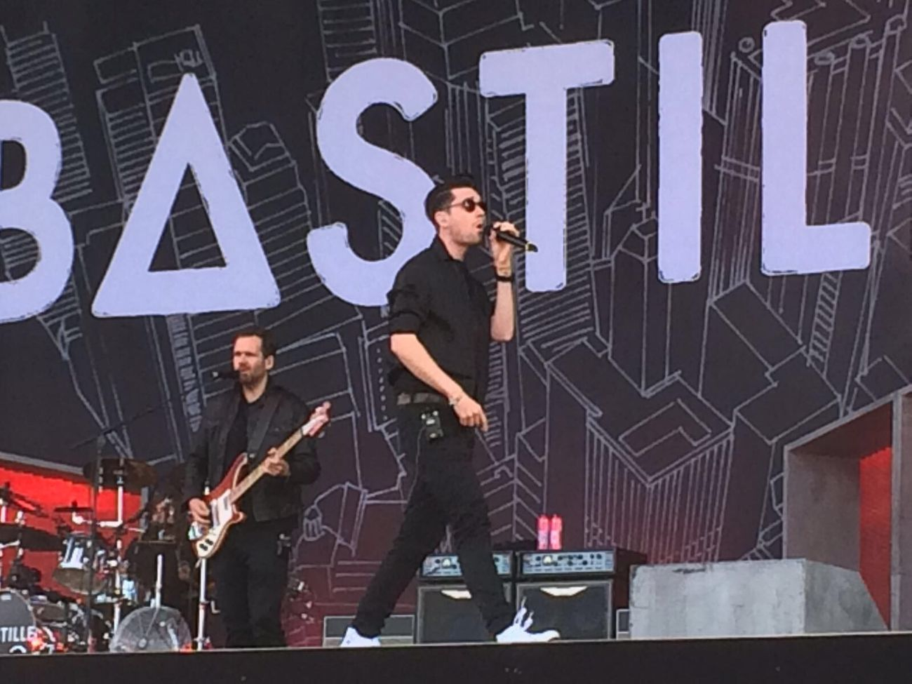 Bastille Pinkpop 2016 Festival Great Weekend  With Friends Enjoying Life Music Drinking Dancing